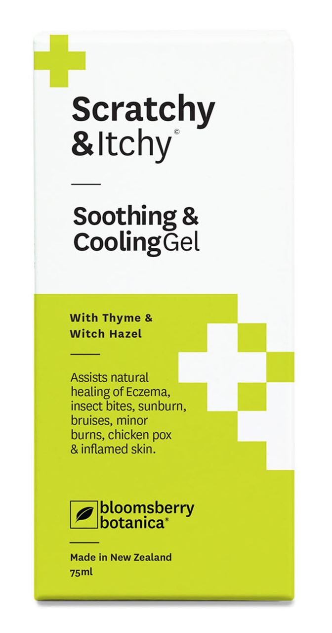 Botanica Scratchy & Itchy Soothing & Cooling Gel 75ml