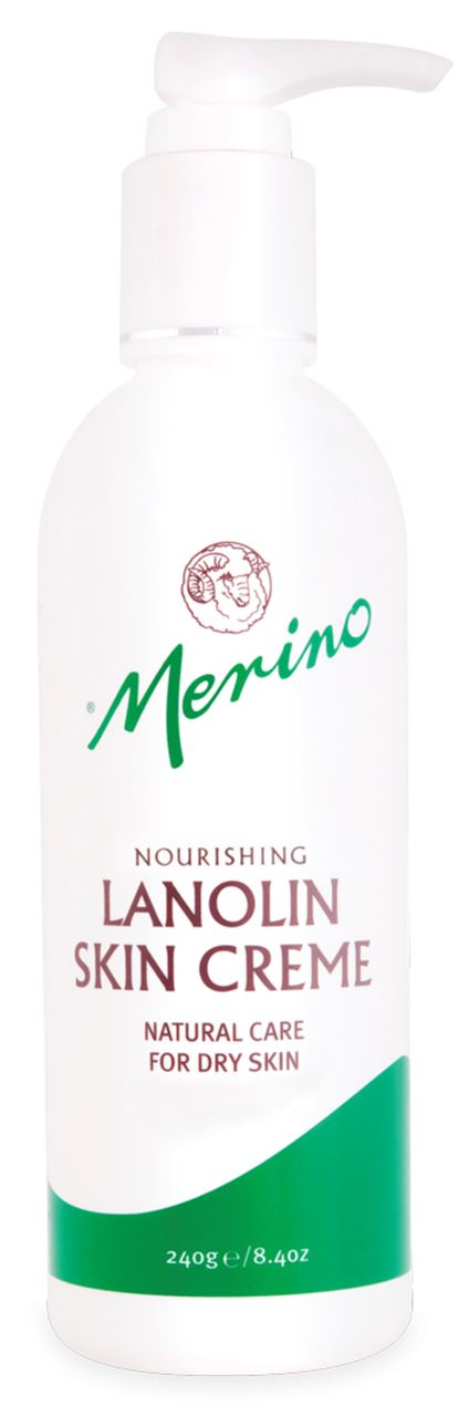 Merino Lanolin Skin Creme Pump 240ml