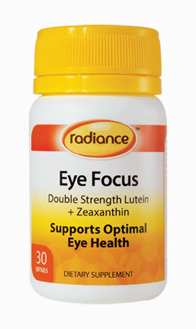 Radiance Eye Focus Capsules (Double Strength Lutein + Zeaxanthin) 30
