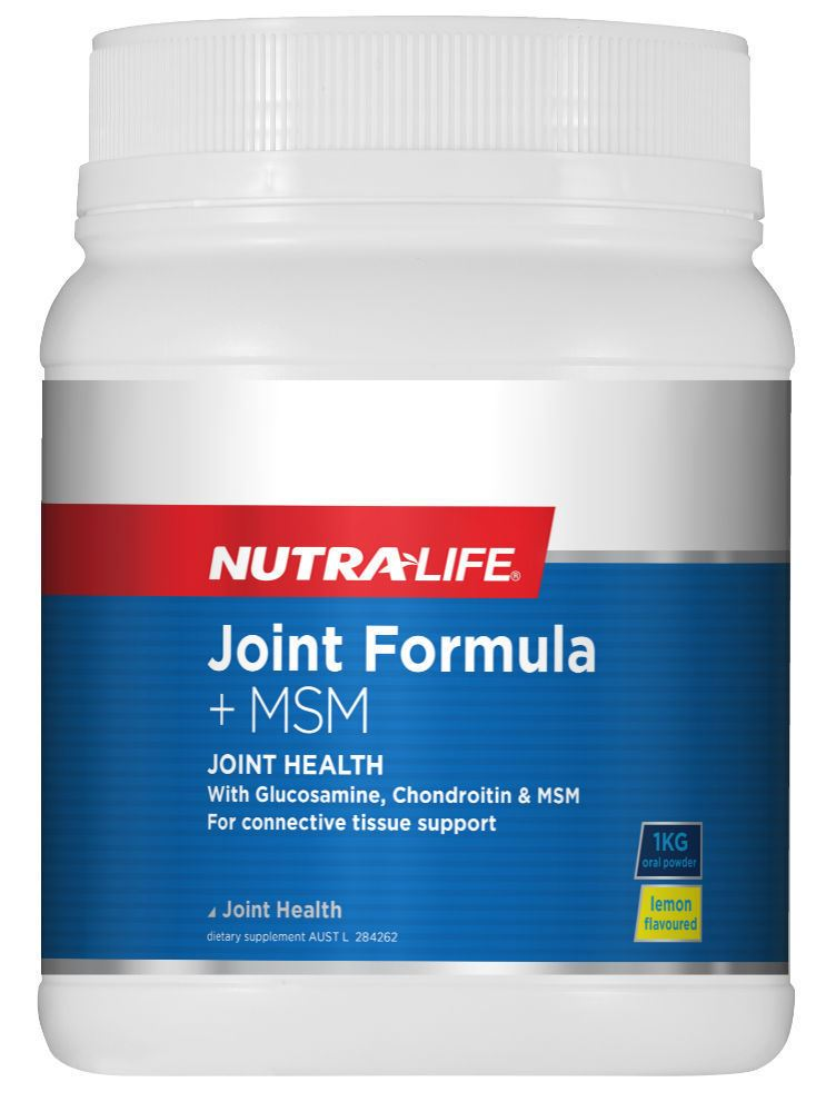 Nutra-Life Joint Formula + MSM Powder
