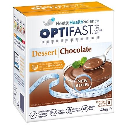 Optifast VLCD Dessert Chocolate 8 x 53g Sachets
