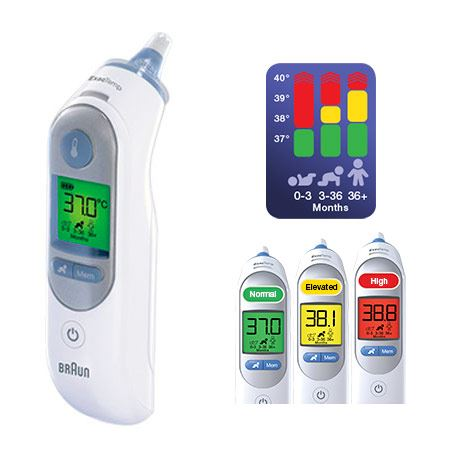 Braun ThermoScan 7 Ear Thermometer ExacTemp IRT 6520 - 3