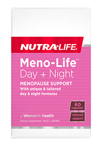 Nutra-LifeMeno-Life Day + Night Menopause Support Capsules 60