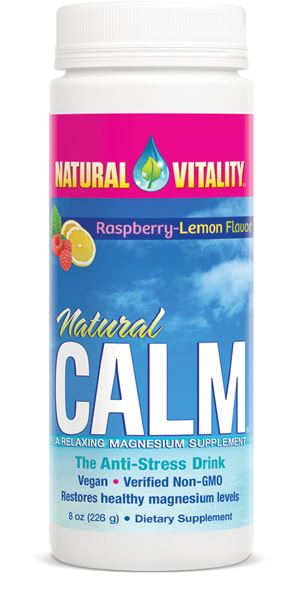 Natural Vitality Natural Calm The Anti-Stress Drink Raspberry-Lemon Flavour 226g