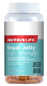 Nutra-Life Royal Jelly High Strength Capsules 220