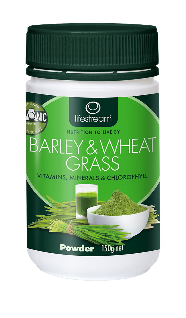 Lifestream Barley & Wheat Grass Powder 150g