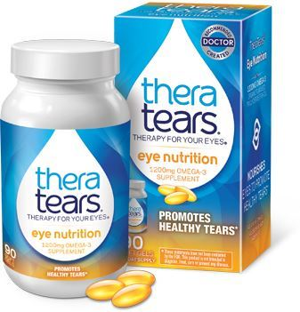 TheraTears Eye Nutrition Capsules 90