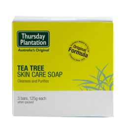 Thursday Plantation Tea Tree Soap 3 x 125g