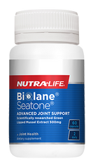 Nutra-Life Biolane Seatone Green Lipped Mussel Extract 500mg Capsules 60