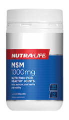 Nutra-Life MSM 1000mg Capsules 120