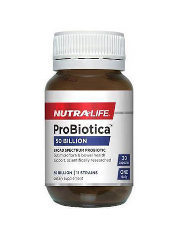 Nutra-Life Probiotica 50 Billion High Strength Capsules