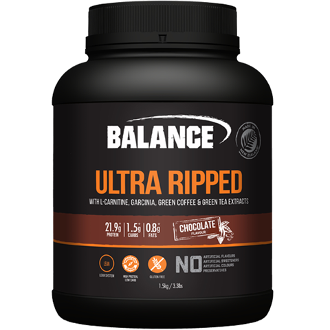 Balance Ultra Ripped Protein Chocolate 1.5kg