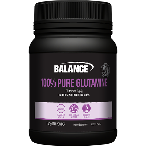 Balance 100% Pure Glutamine Powder 150g