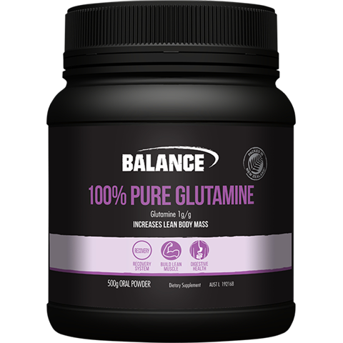 Balance 100% Pure Glutamine Powder 500g