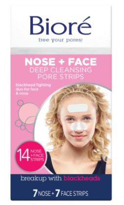 Biore Combo Deep Cleansing Pore Strips Face & Nose 14