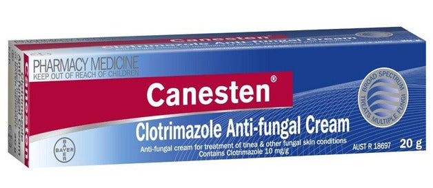 Canesten Clotrimazole 1% Anti-Fungal Cream 20g