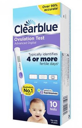 Clearblue Digital Ovulation Test 10 Tests