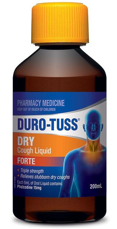 Duro-Tuss Dry Forte Cough Suppressant 200ml