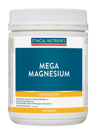 Ethical Nutrients Mega Magnesium Tablets 240