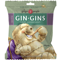 Gin Gins Original Chewy Ginger Candy 60g