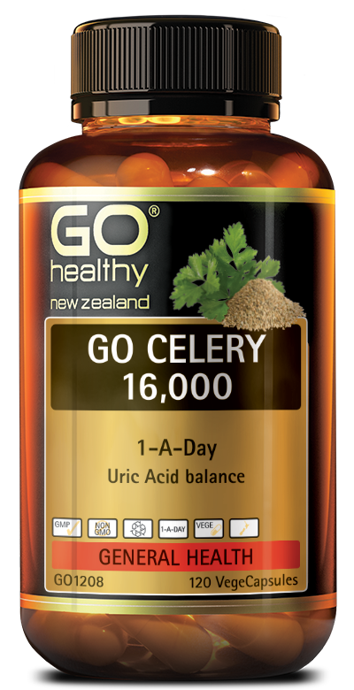 Go Healthy Celery 16000 VegeCapsules 120
