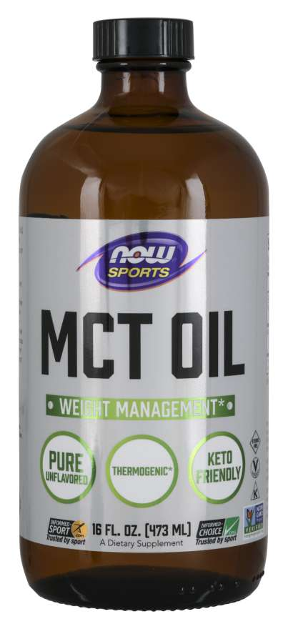 Now Foods MCT Oil 100% Pure 473ml
