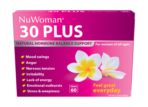 30 Plus NuWoman Natural Hormone Balance Support Tablets