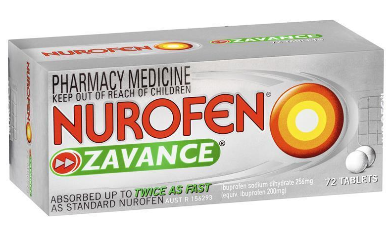 Nurofen Zavance Tablets 72