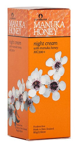 Puresource Marvellous Manuka Anti-Aging Night Cream with Active Manuka Honey 10+ 80g