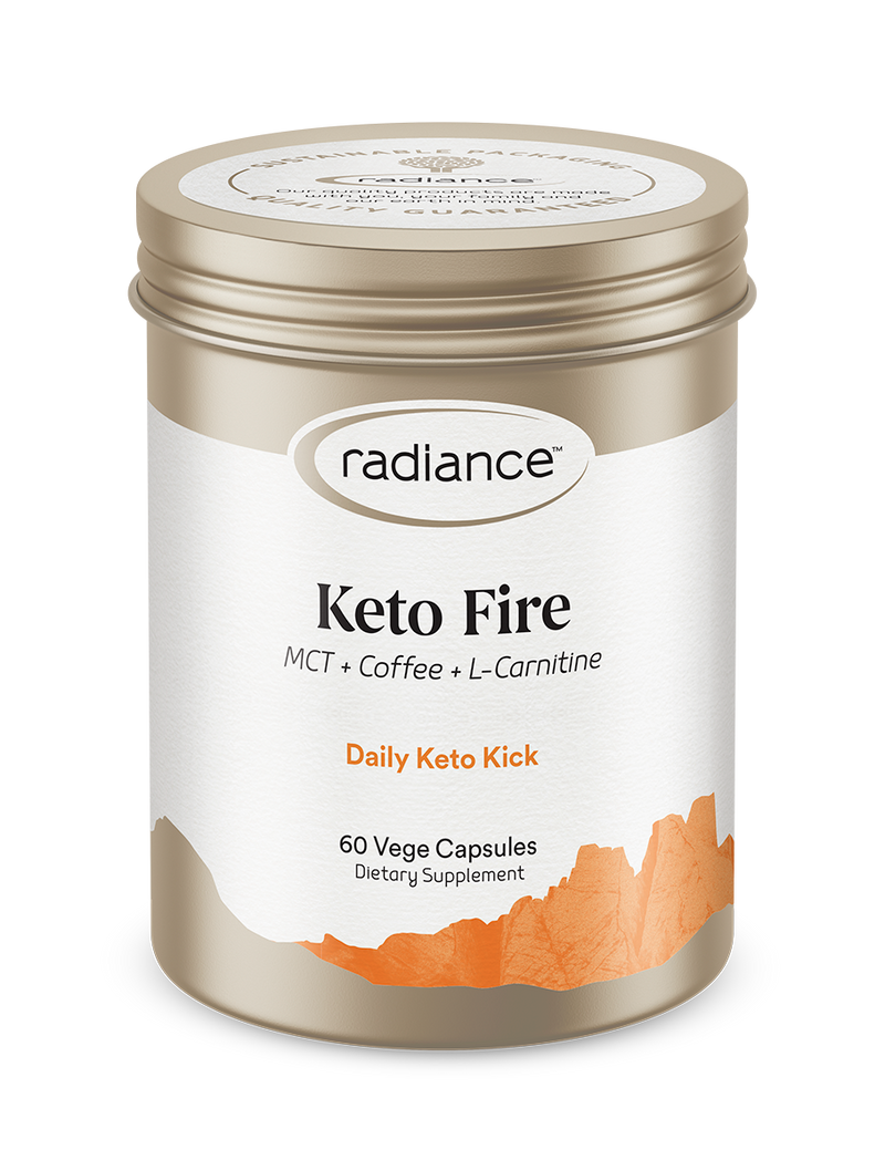 Radiance Keto Fire Vege Capsules 60
