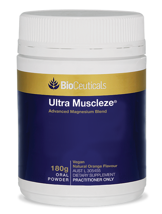 BioCeuticals Ultra Muscleze Powder 180g (Orange Flavour)