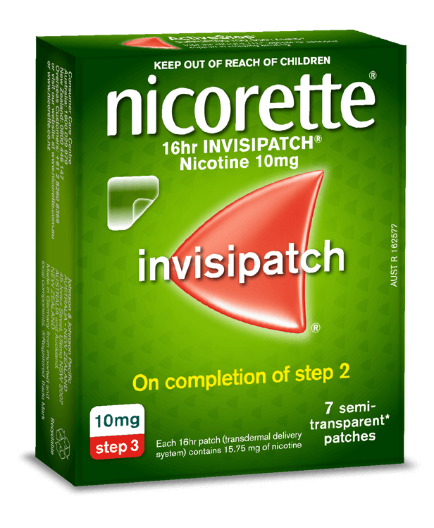 Nicorette Nicotine 16hr Invisipatch 7