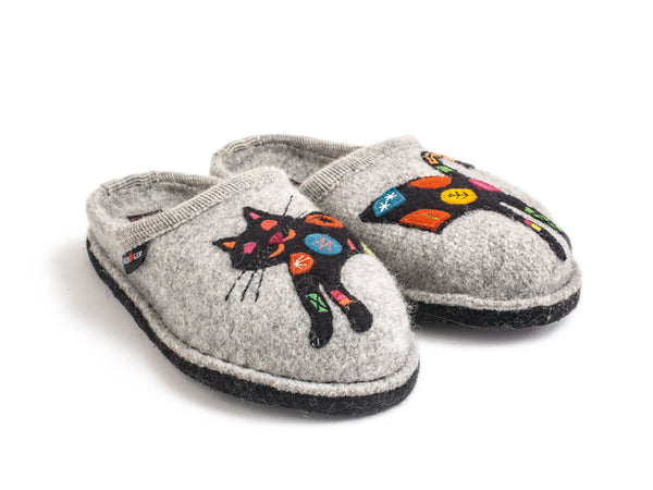 Haflinger Sassy Cat House Slipper