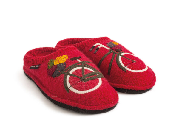 Haflinger Bicycle House Slippers