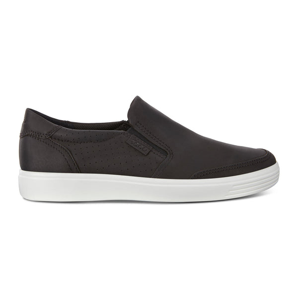 Soft 7 Slip-On Sneaker Black (Men's size scale)