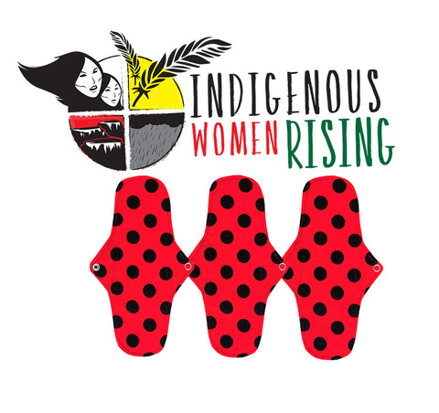 Donate a pad to Indigenous Women Rising