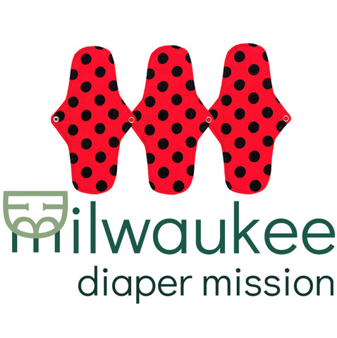 Donate a pad to Milwaukee Diaper Mission