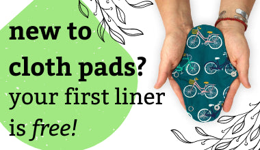 Cloth Pad Curious | Free liners for new customers
