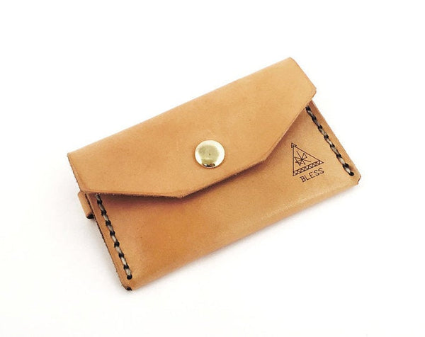 BLESS~Handcrafted leather wallet SALE