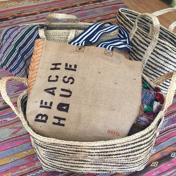 beach house tote