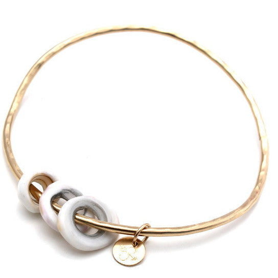 puka shell bangle
