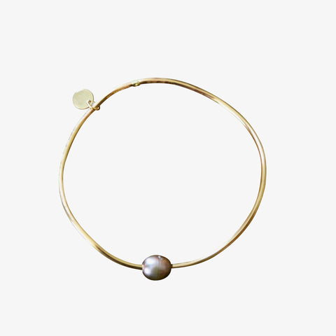fresh water pearl bangle