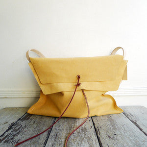 specialty dry goods~handmade leather bag