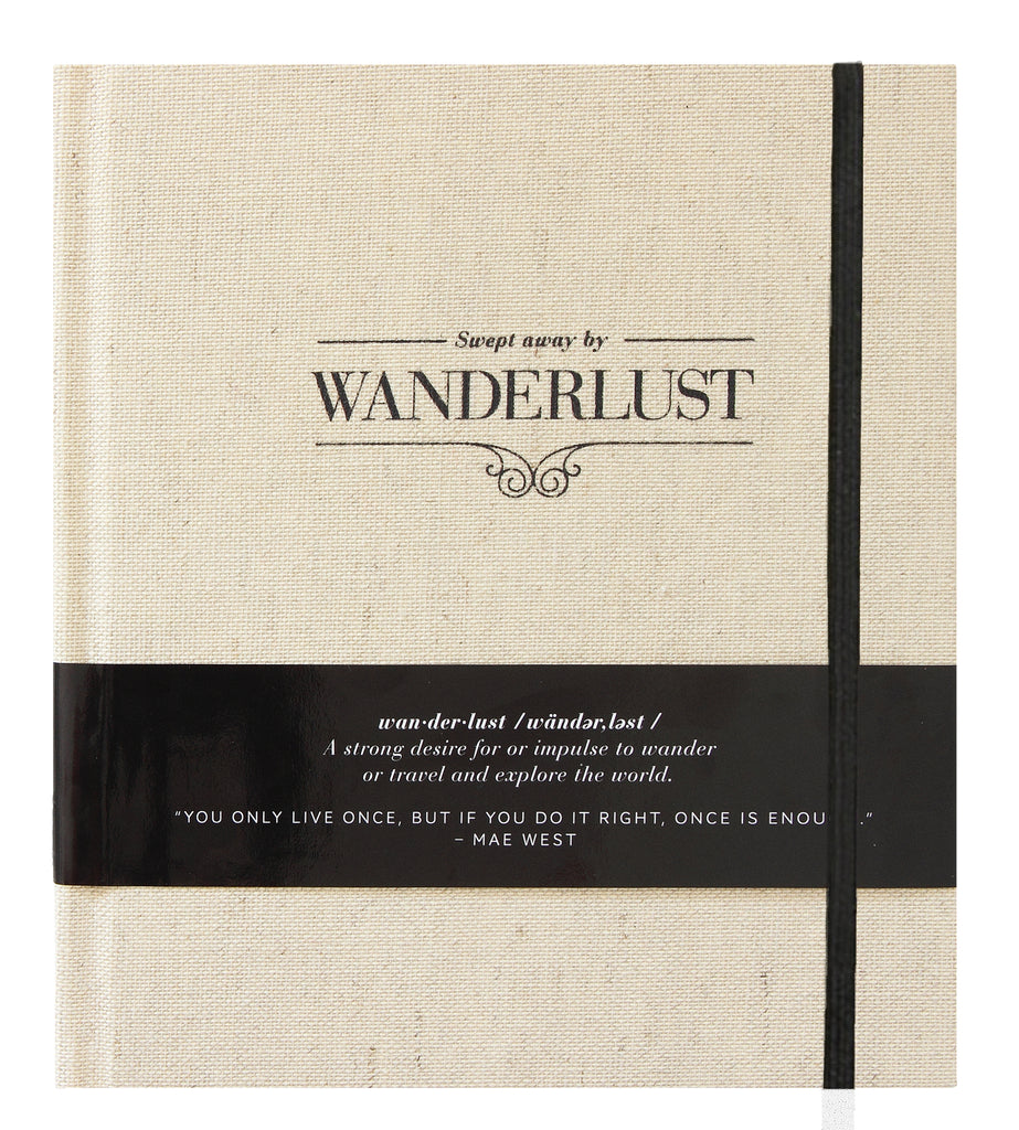 WANDERLUST~SWEPT AWAY journal by Axel & Ash