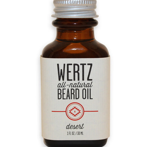 wertz beard oil