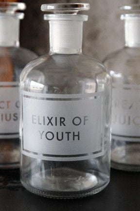 elixir of youth apothecary jar