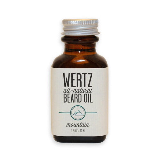 Wertz beard oil~mountain beard oil