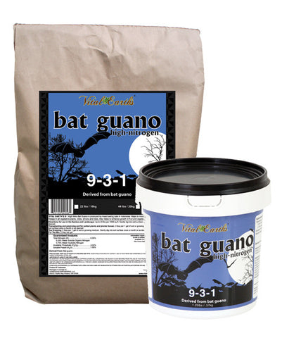 High Nitrogen Bat Guano 9-3-1