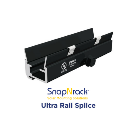 Ultra Rail Splice - SnapNrack UR-40
