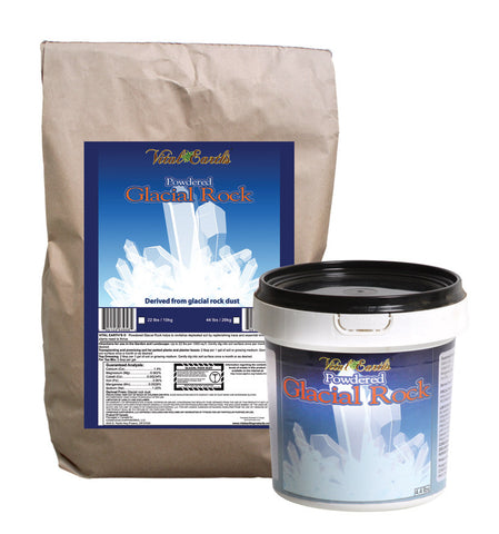 Glacial Rock Powder